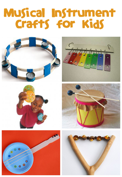 craft ideas for kids musical instruments musical instrument crafts family crafts 6197