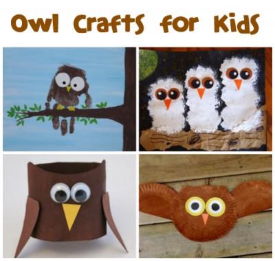Owl Crafts & Recipes