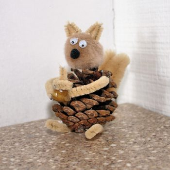 Pinecone Squirrel