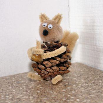 Pinecone Squirrel
