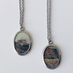Postcard Pendants