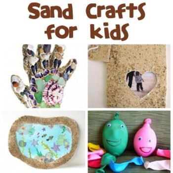 Sand Crafts & Activities