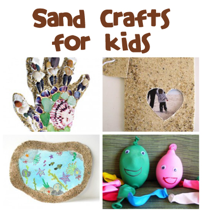 Sand Crafts & Activities - Fun Family Crafts
