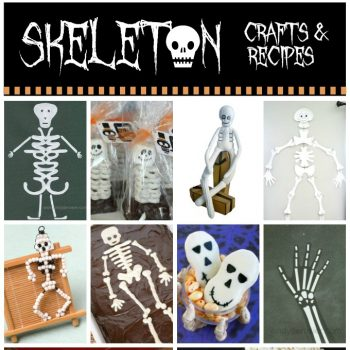 Skeleton and Skull Crafts and Recipes