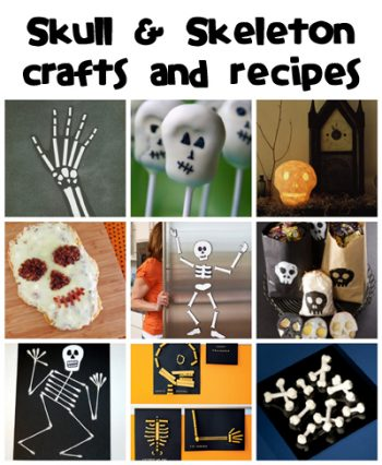 Skull & Skeleton Crafts & Recipes - Fun Family Crafts