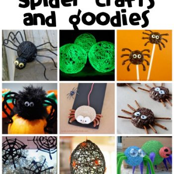 Spider Crafts & Recipes