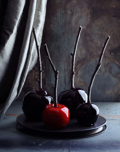 Spooky Candy Apples