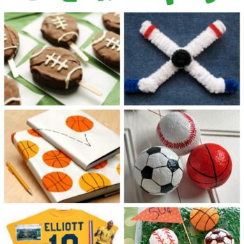 Sports Crafts & Recipes