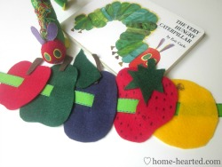 Busy Bag - The Very Hungry Caterpillar