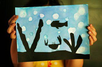 Underwater Silhouettes