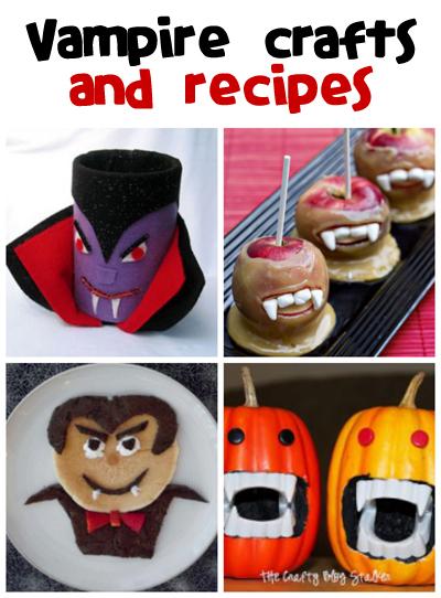 Vampire Crafts & Recipes - Fun Family Crafts