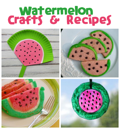 Watermelon Crafts And Recipes Fun Family Crafts
