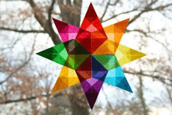Folded Window Star