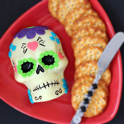 Day of the Dead Cheese Sugar Skull