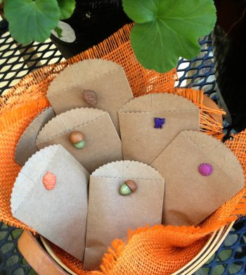 Mini Autumn Gift Bags