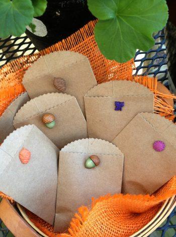 Mini Autumn Gift Bags