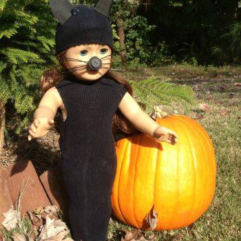 Black Cat Doll Costume