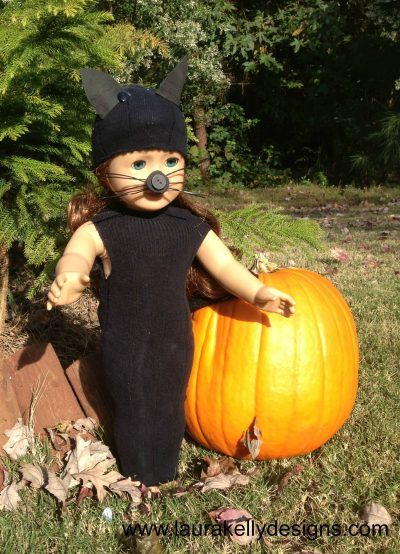 Black Cat Doll Costume