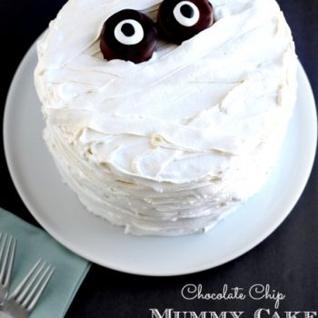 Chocolate Chip Mummy Cake