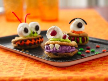 Chomping Monster Cookies