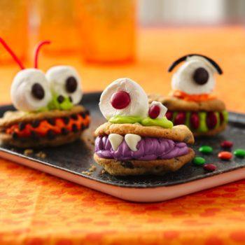 Chomping Monster Cookies