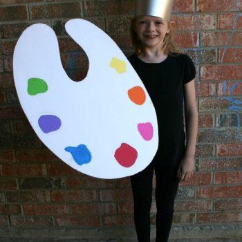 Paintbrush Costume