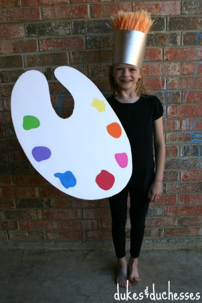 Paintbrush Costume