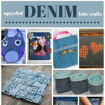 Denim Crafts for Kids and Teens