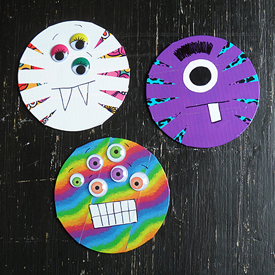 Duck Tape Cd Monsters Fun Family Crafts