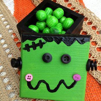 Frankenstein Monster Treat Box