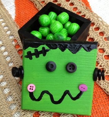 Frankenstein Monster Treat Box
