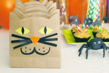 Paper Cat Treat Bags