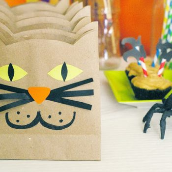 Cat Trick or Treat Bags
