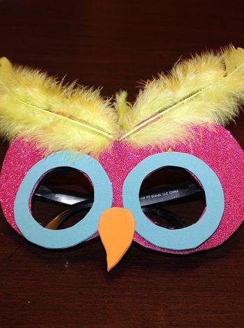 Make an Owl Mask