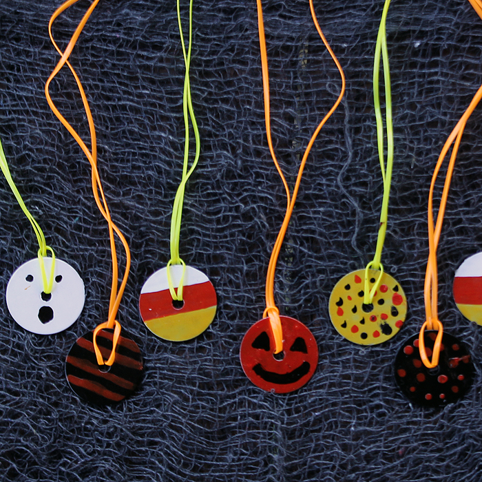 halloween washer necklace fun family crafts halloween craft ideas for school