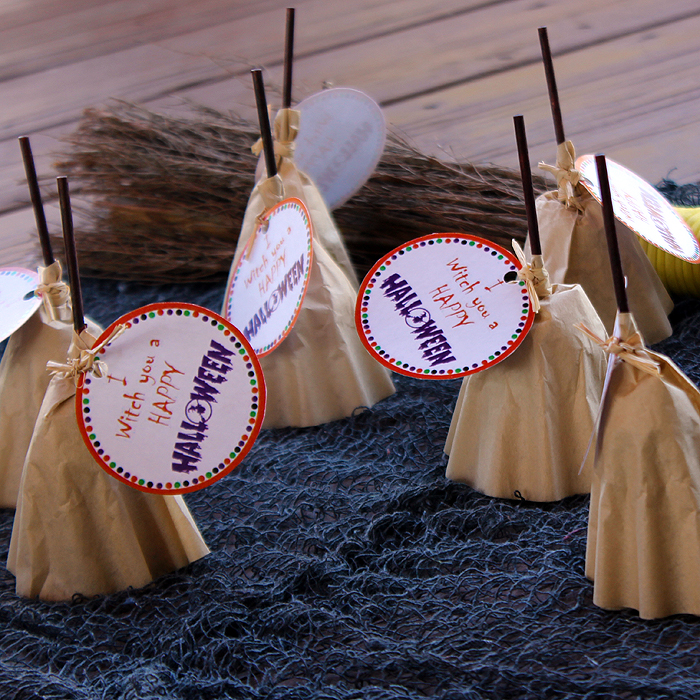 Witches Broom Lollipops Fun Family Crafts