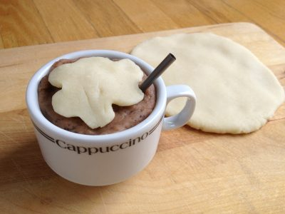 Coffee & Cream Play Dough