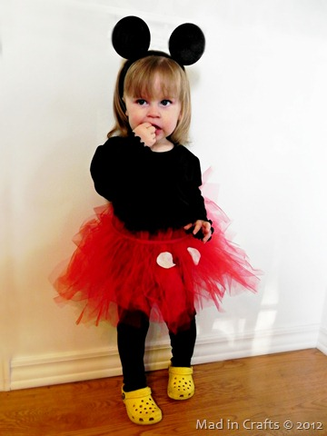 Girl's Mickey Mouse Costume