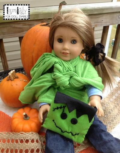 Frankenstein Doll Pillow