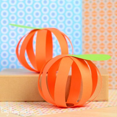 Paper Pumpkin Craft | Fun Family Crafts