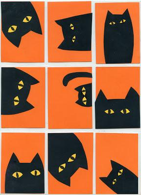 Peekaboo Cats
