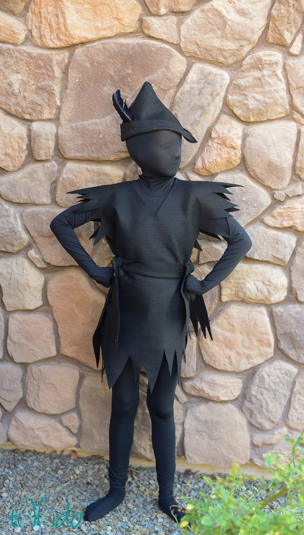 Peter Pan S Escaped Shadow Costume Fun Family Crafts