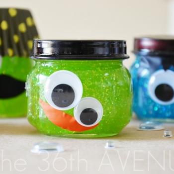 Glitter Slime Monsters