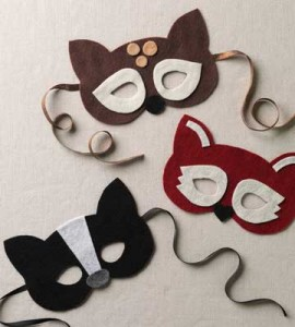 No-Sew Woodland Creatures Masks