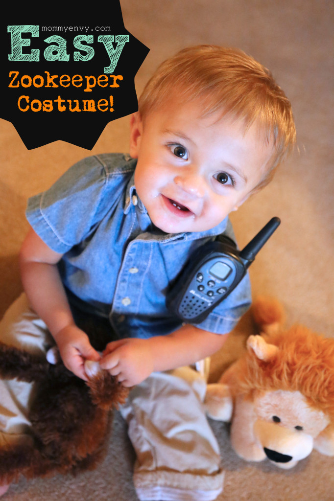 Zookeeper Costume Fun Family Crafts