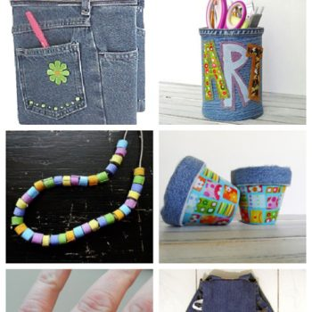 Denim Crafts for Kids & Teens