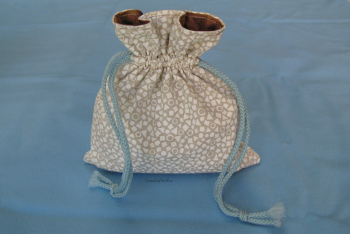 Small Lined Drawstring Bag