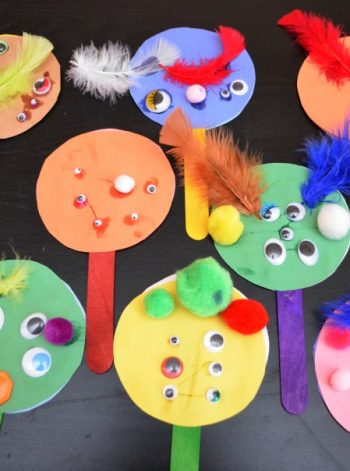 Monster Math: Place Value Puppets