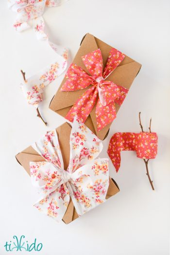 DIY Fabric Ribbon