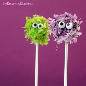 Fuzzy Monster Pops